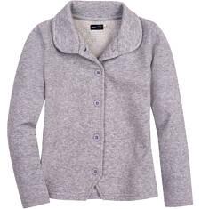 Rozpinana bluza ze srebrną nitką dla dziewczynki 3-8 lat D62C008_1