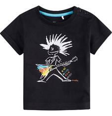 Bluzka z krótkim rękawem  dla dziecka 0-3 lat N71G103_1