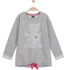 Gruba bluza typu tunika dla dziewczynki 3-8 lat D62C011_1