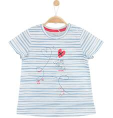 Bluzka w paski dla niemowlaka N61G058_1