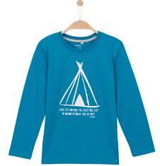 T-shirt z długim rękawem dla chłopca 3-8 lat C62G068_1