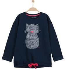 Gruba bluza typu tunika dla dziewczynki 9-12 lat D62C512_1