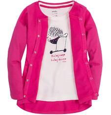 Bluza zapinana na napy dla dziewczynki 9-13 lat D71C505_4