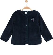 Polarowa, rozpinana bluza dla niemowlaka N62C027_1