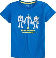T-shirt dla chłopca 4-8 lat C71G029_1