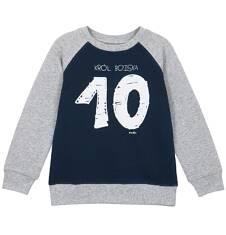 Bluza z rękawem typu reglan i ściągaczami dla chłopca 9-12 lat C62C511_1