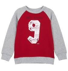 Bluza z rękawem typu reglan i ściągaczami dla chłopca 3-8 lat C62C028_1