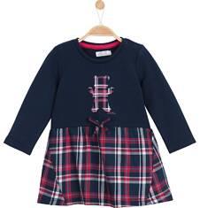 Sukienka z odcinanym dołem i kieszeniami dla niemowlaka N62H016_1