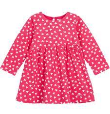 Dżersejowa sukienka z wysoką talią dla niemowlaka N62H021_1