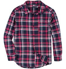 Koszula flanelowa dla chłopca 9-12 lat C62F505_1