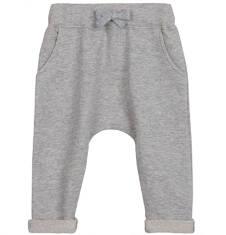 Spodnie dresowe z obniżonym krokiem dla niemowlaka N62K039_1
