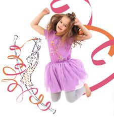 Spódniczka tiulowa na podszewce dla dziewczynki 9-13 lat D71J522_3