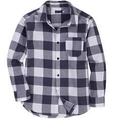 Koszula flanelowa dla chłopca 9-12 lat C62F507_1