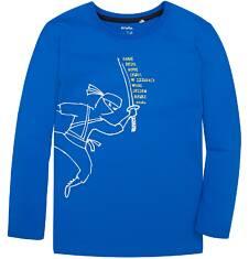T-shirt z długim rękawem dla chłopca 3-8 lat C72G086_1