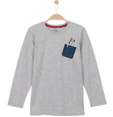T-shirt z długim rękawem dla chłopca 3-8 lat C62G002_1