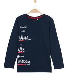 T-shirt z długim rękawem dla chłopca 9-12 lat C62G508_1