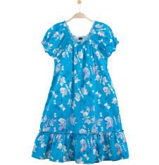 Rozszerzana sukienka z  falbanką damska Y61H018_1