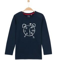 T-shirt z długim rękawem dla chłopca 3-8 lat C62G009_1