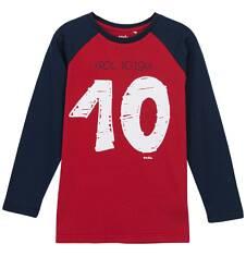 T-shirt z długim rękawem dla chłopca 9-12 lat C62G516_1