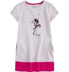 Sukienka trapezowa dla dziewczynki 9-13 lat D71H535_1