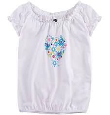 Luźna marszona bluzka dla dziewczynki 9-13 lat D71G681_1