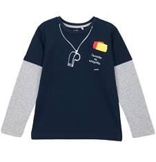 T-shirt z długim rękawem dla chłopca 9-12 lat C62G519_1