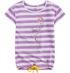 Tunika z krótkim rękawem i troczkiem dla dziewczynki 9-13 lat D71G595_1