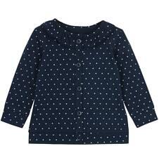 Rozpinana bluza z ozdobną falbanką dla niemowlaka N62C020_1