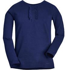 Bluzka z falbankowym żabotem dla dziewczynki 3-8 lat D72G132_2