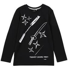 T-shirt z długim rękawem dla chłopca 3-8 lat C62G034_1
