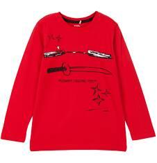 T-shirt z długim rękawem dla chłopca 3-8 lat C62G038_1