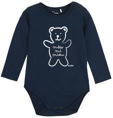 Body z długim rękawem dla niemowlaka N62M016_1