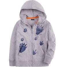 Bluza z kapturem na suwak dla chłopca 9-13 lat C71C525_1