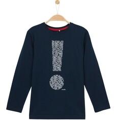 T-shirt z długim rękawem dla chłopca 3-8 lat C62G095_1