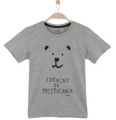 Melanżowy t-shirt dla chłopca C61G156_1