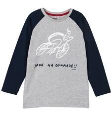T-shirt z długim rękawem dla chłopca 9-12 lat C62G632_1