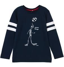 T-shirt z długim rękawem dla chłopca 9-12 lat C62G634_1