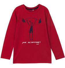 T-shirt z długim rękawem dla chłopca 3-8 lat C62G135_1
