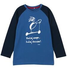 T-shirt z długim rękawem dla chłopca 3-8 lat C62G136_1