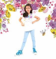 Tregginsy dla dziewczynki 9-13 lat D71K535_2