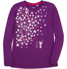 Bluzka z długim rękawem  dla dziewczynki 9-13 lat D72G537_2