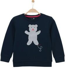 Gruba bluza przez głowę dla dziewczynki 3-8 lat D62C002_1