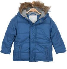 Długa kurtka zimowa dla niemowlaka N62A003_1