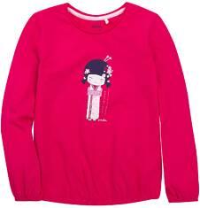 Bufiasta bluzka dla dziewczynki 9-13 lat D72G555_1