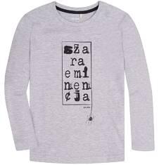T-shirt z długim rękawem dla chłopca 9-13 lat C72G659_1