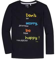 T-shirt z długim rękawem dla chłopca 9-13 lat C72G660_1