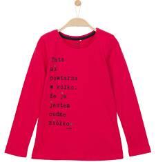 Bluzka z długim rękawem dla dziewczynki 3-8 lat D62G085_1