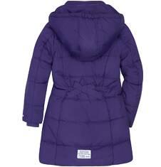 Długi zimowy płaszcz dla dziewczynki 3-8 lat D72A010_1