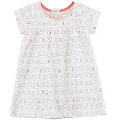 Sukienka we wzorzysty deseń dla niemowlaka N61H004_1