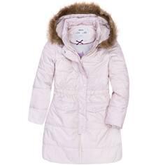 Długi płaszcz zimowy dla dziewczynki 3-8 lat D72A015_1